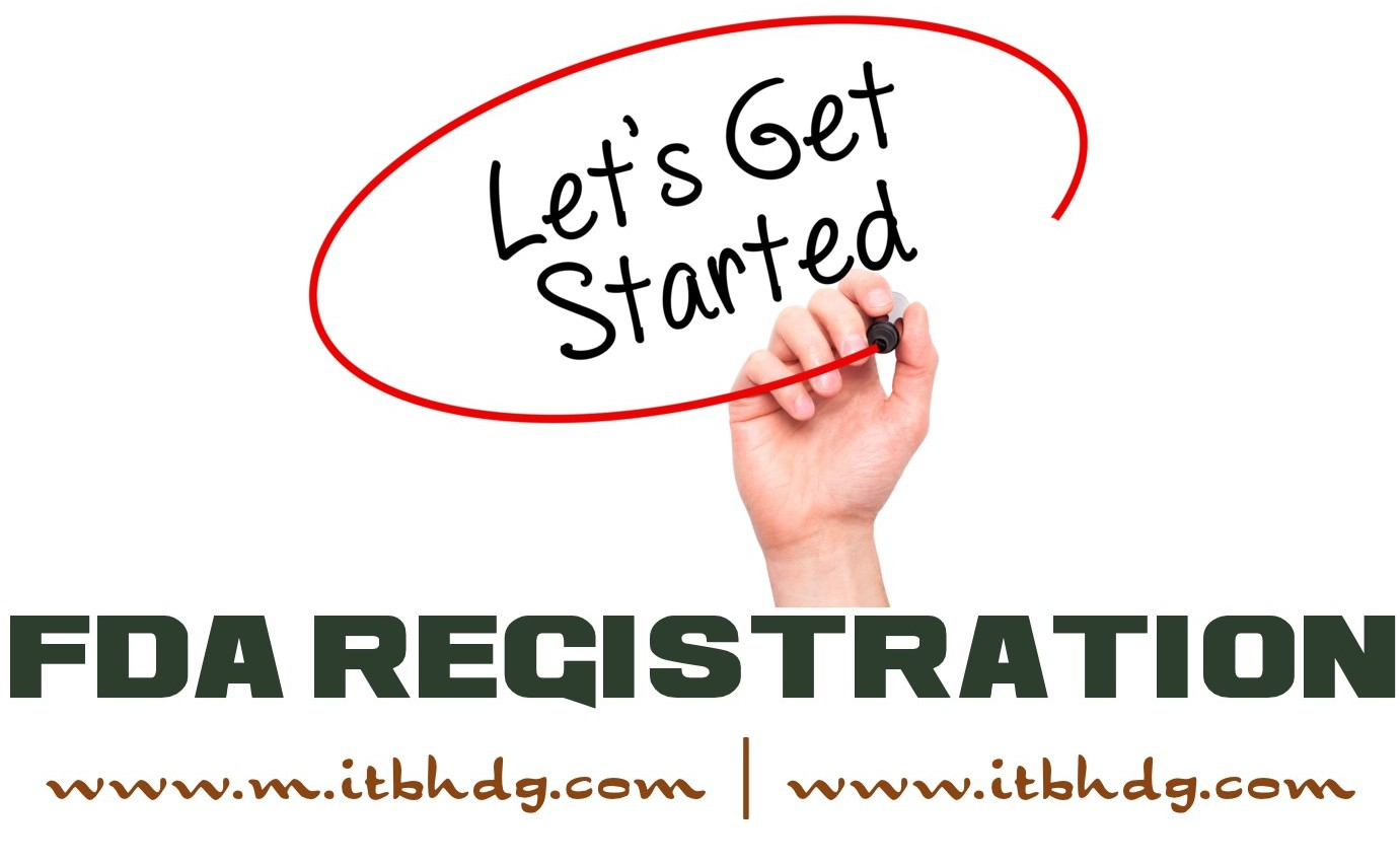 FDA Registration is a legal requirement | Enjoy up to 75% Discount | Food Facilities | Food Canning | Alcoholic Beverages | Dietary Supplements | @ ITB HOLDINGS LLC