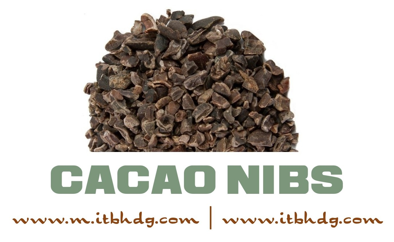 Organic Cacao Nibs | 200 g / 7.05 oz | $11.63 | Free Shipping to 100 countries | Best CIF (Cost, Insurance, Freight) prices | www.m.itbhdg.com | www.itbhdg.com