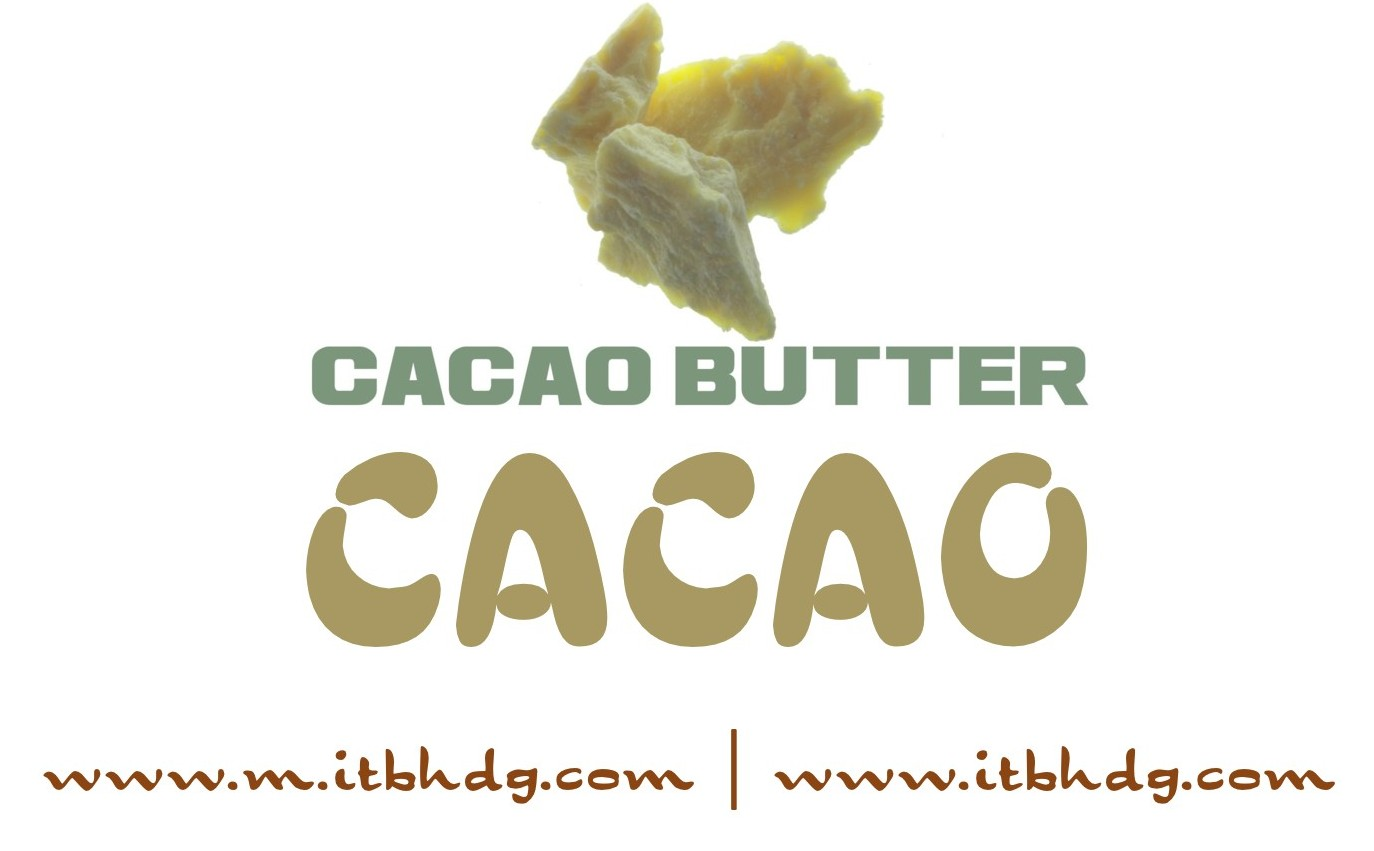 Organic Cacao Butter | Full list available at http://www.m.itbhdg.com/organic or http://www.itbhdg.com/english/commodities.php