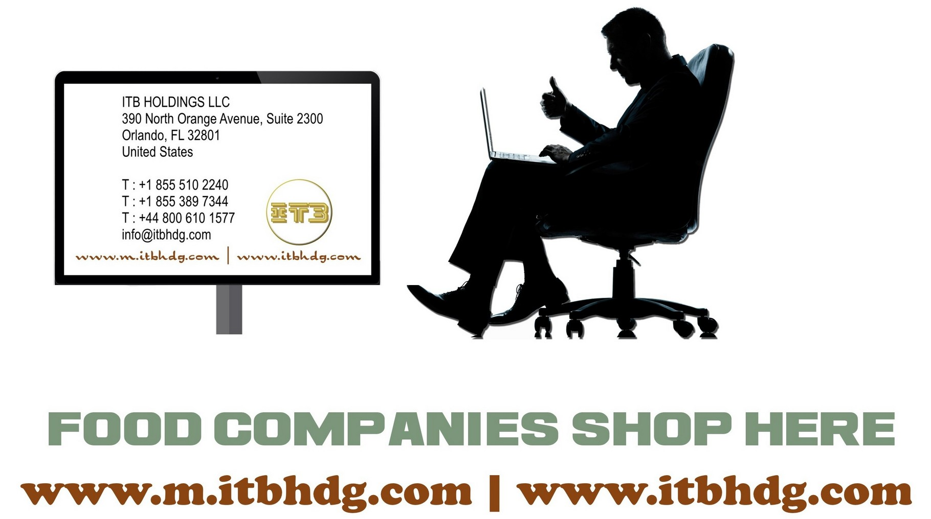ITB HOLDINGS LLC | Free Domestic and International Shipping, Fast Quote, Fast Email Responses