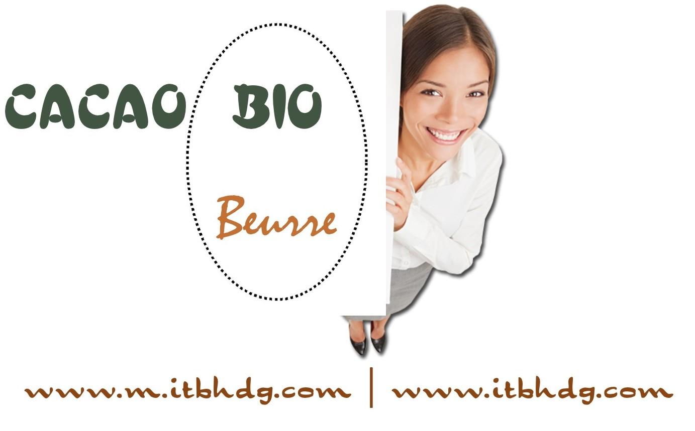 Beurre de Cacao Bio | Livraison Gratuite